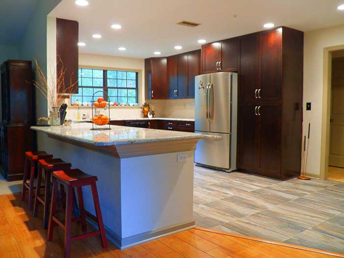 Tallahassee Kitchen Remodel - Eclectic Style