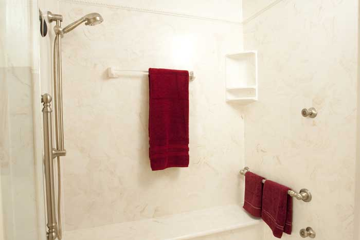 Tallahassee Master bath shower